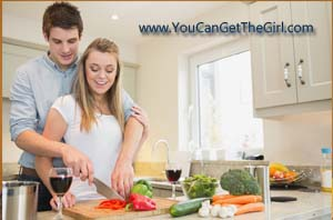 Cooking together-You Can Get The Girl
